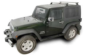 Jeep Wrangler JK roof rack