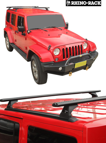 Jeep Wrangler 4 door roof racks