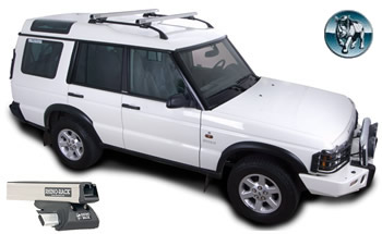 Rhino CXB roof racks Landrover Discovery