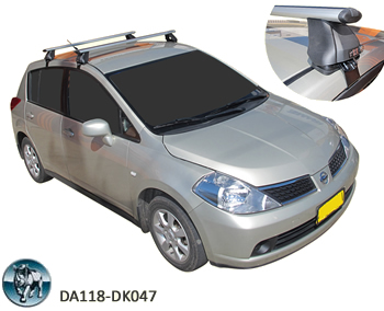 Nissan Tiida roof racks