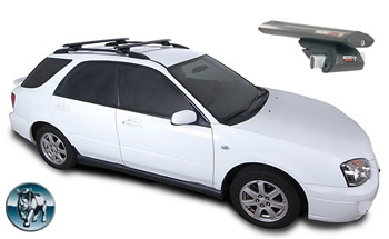 Subaru Imprezza roof racks