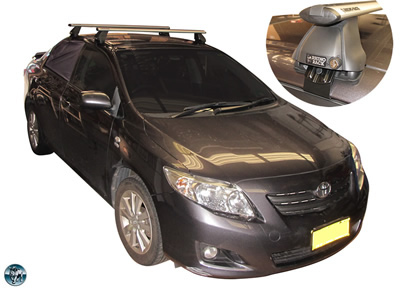 Toyota Crolla roof racks