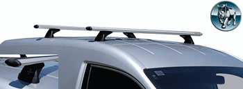 Rhino Aero roof rack VW Caddy