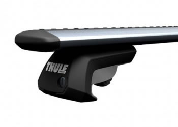 Thule rail bar roof rack