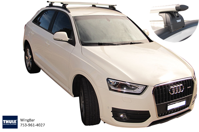 Thule RT753 fitted to Audi Q5