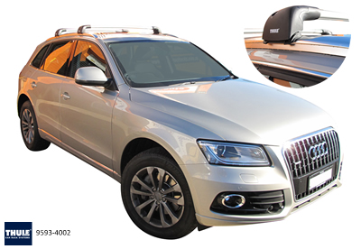 Thule 753  roof racks Audi Q7
