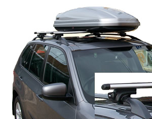 Thule roofracks fitted to BMW X3