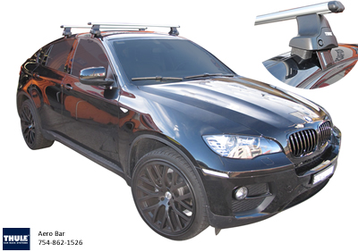 BMW X6 thule roof racks