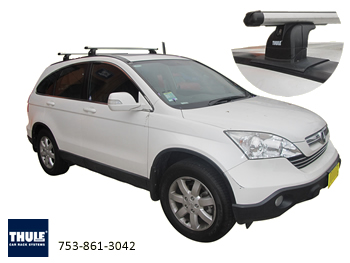 Rhino Heavy duty roof racks Honda CRV