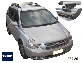 Kia Carnival Roof Racks