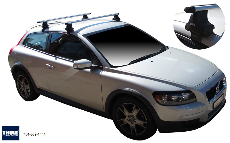 Volvo C30 roof racks
