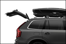 Thule Motion hatch clearance